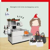 Rosie Made a Thing 'Unexpected Item' Christmas Card